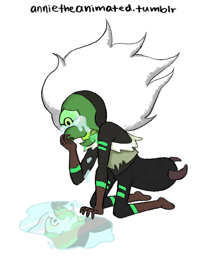 """""""w h y d i d n ' t i t w o r k ? """" my brain: hey you could draw something cute with centipeetle and Steven bonding, anything happy reall- me: ANGST"""