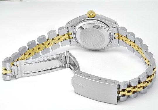 Foto 3, Rolex Date Damen-Armbanduhr Stahl-Gold Automatik Topuhr, U1999