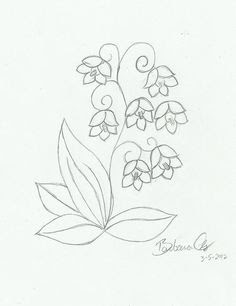Lily Of The Valley Flower Tattoo Meaning Flowers Healthy