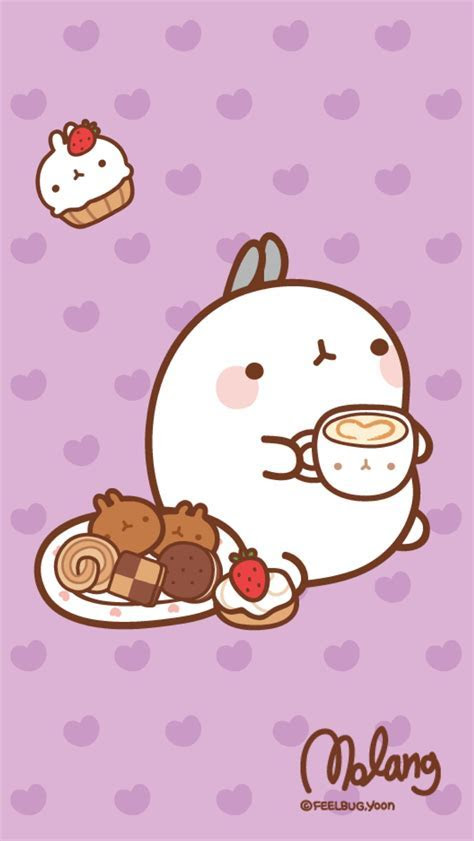 Molang Mobile Wallpapers   Cute Kawaii Resources