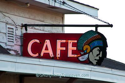 Indianhead Cafe Sign, Ladysmith, Wisconsin