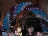 Balloons in Davies Hall