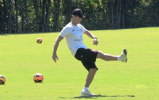 Amaral Flamengo treino (Foto: Cahê Mota)