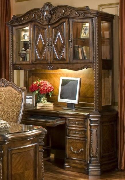 AICO Furniture - Windsor Court Credenza Base - 70206-54CB