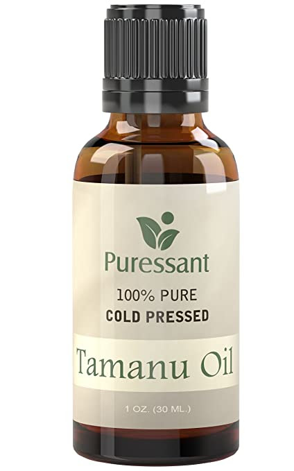 BEST Tamanu Oil (Foraha Oil) - 100% Pure Cold Pressed 1 Ounce - Treats Acne, Psoriasis, Eczema, Toe Nail Fungus and More!