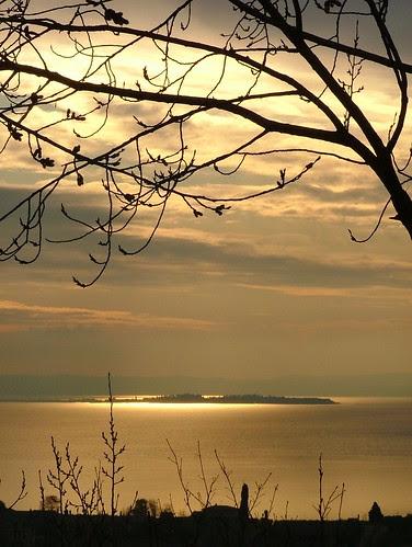 sunset sirmione 23 february 2010