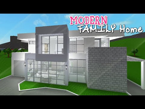 Download Mp3 Bloxburg House Tutorial 40k 2 Story 2018 Free - bloxburg modern house tutorial step by step