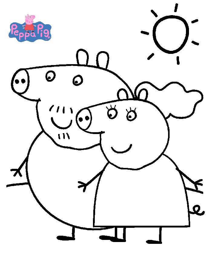 Index Of Coloriagesheros Tvpeppa Pig