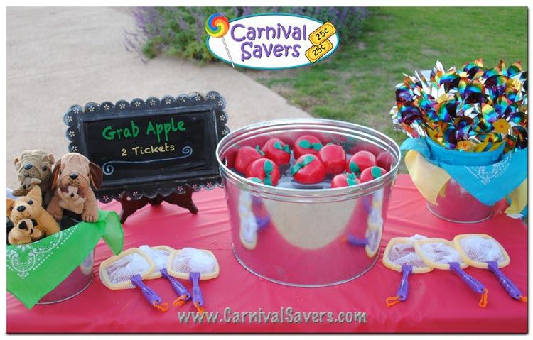 Grab Apple Fall Festival Game Idea  Bobbing for Apples Alternative