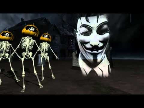 Anonymous Bailando en el Cementerio (Emoticones 2012)