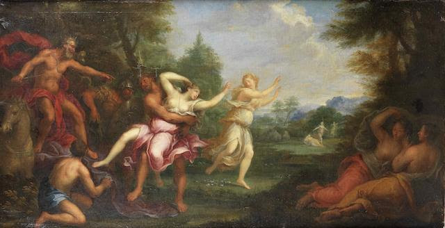 Circle of Andrea Casali (Civitavecchia 1720-1784 Rome) The Rape of Persephone