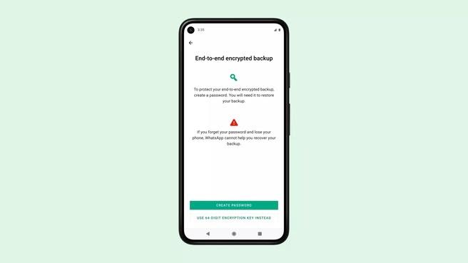 Whatsapp begint met uitrol end-to-end-encryptie voor back-ups