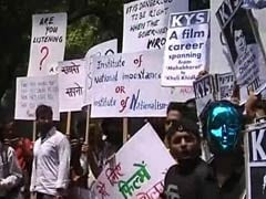 FTII Stir: Protesting Students Await Information and Broadcasting Ministry's Feedback