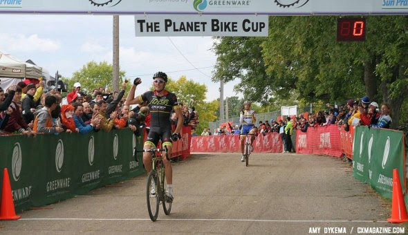 Ryan Trebon took his first UCI win of the season at Planet Bike Day 1. Now we get to look at the race winning effort! © Amy Dykema