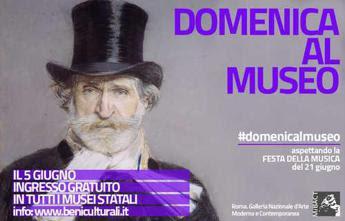 Domenica gratuita nei musei statali all'insegna della musica