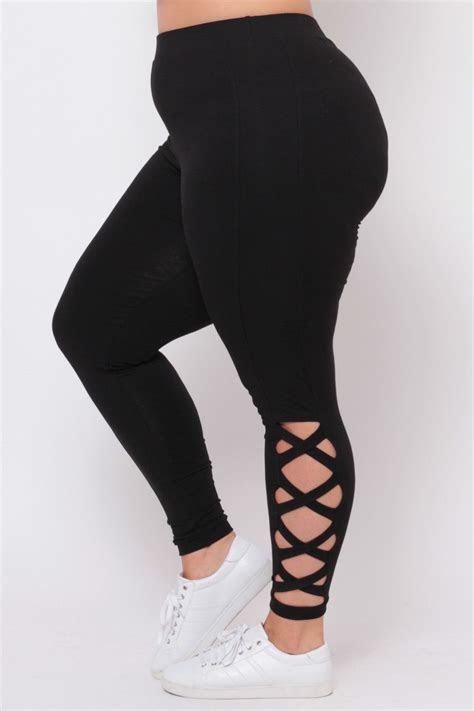size piyo girl leggings black   trendy
