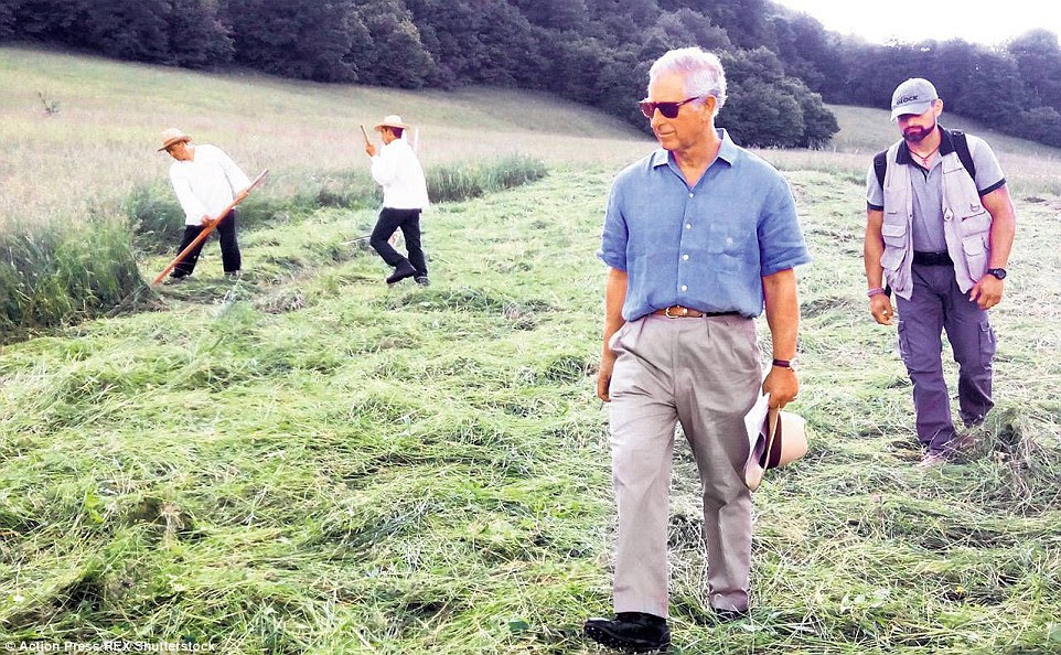 Stepping back in time: It is the quiet, rural way of life which Prince Charles really cherishes about the area, and hopes to preserve