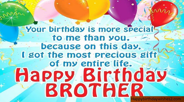 100 Best Happy Birthday Wishes Messages Quotes Status For Brother