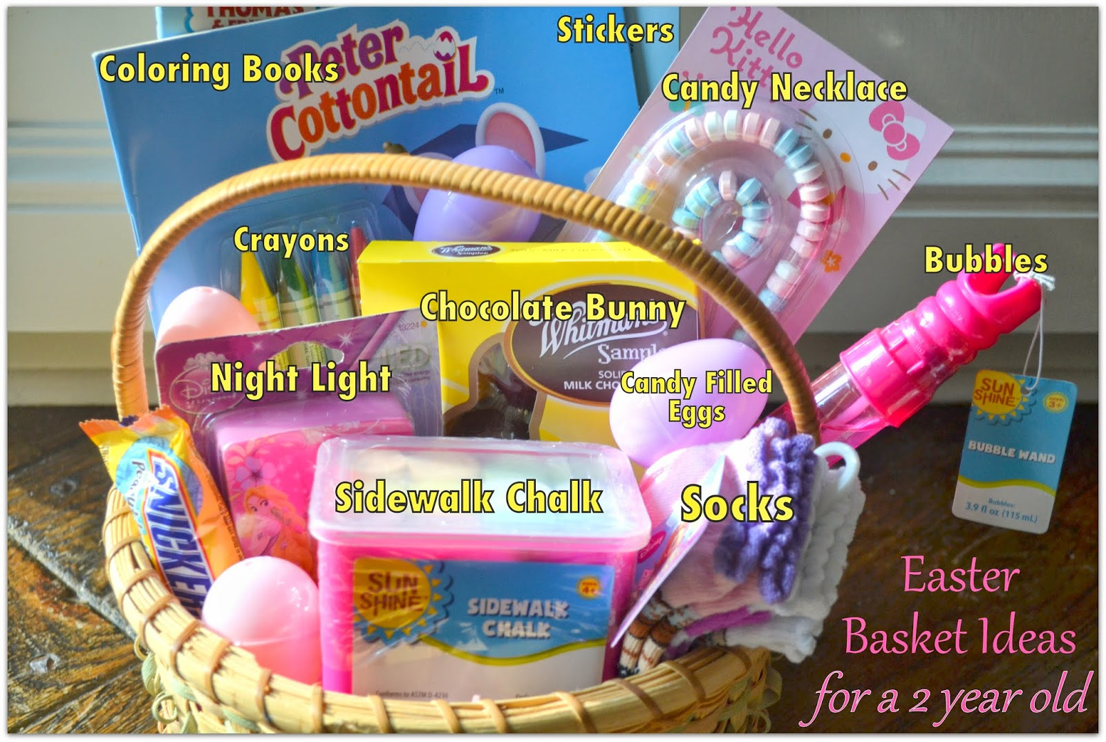 Latest Easter Basket Ideas For One Year Old Freshomedaily
