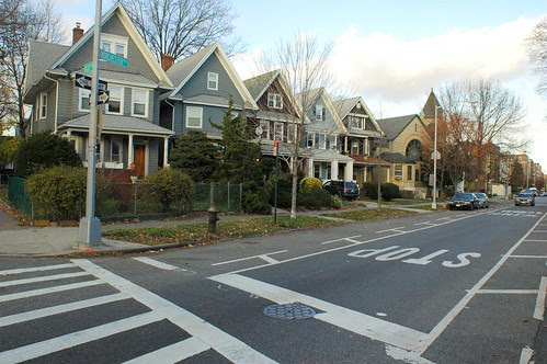 North side of Dorchester Road between Rugby and Marlborough Roads, Ditmas Park West