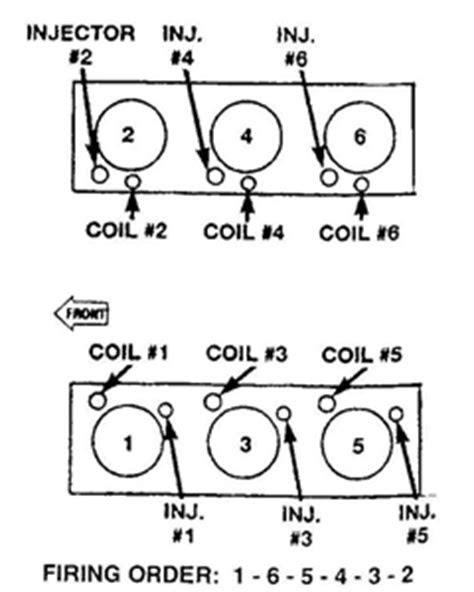 SOLVED: Firing order diagram 3.7 v6 - Fixya