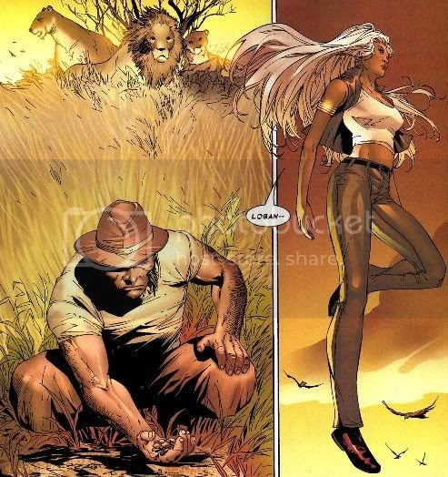Logan e Ororo na África
