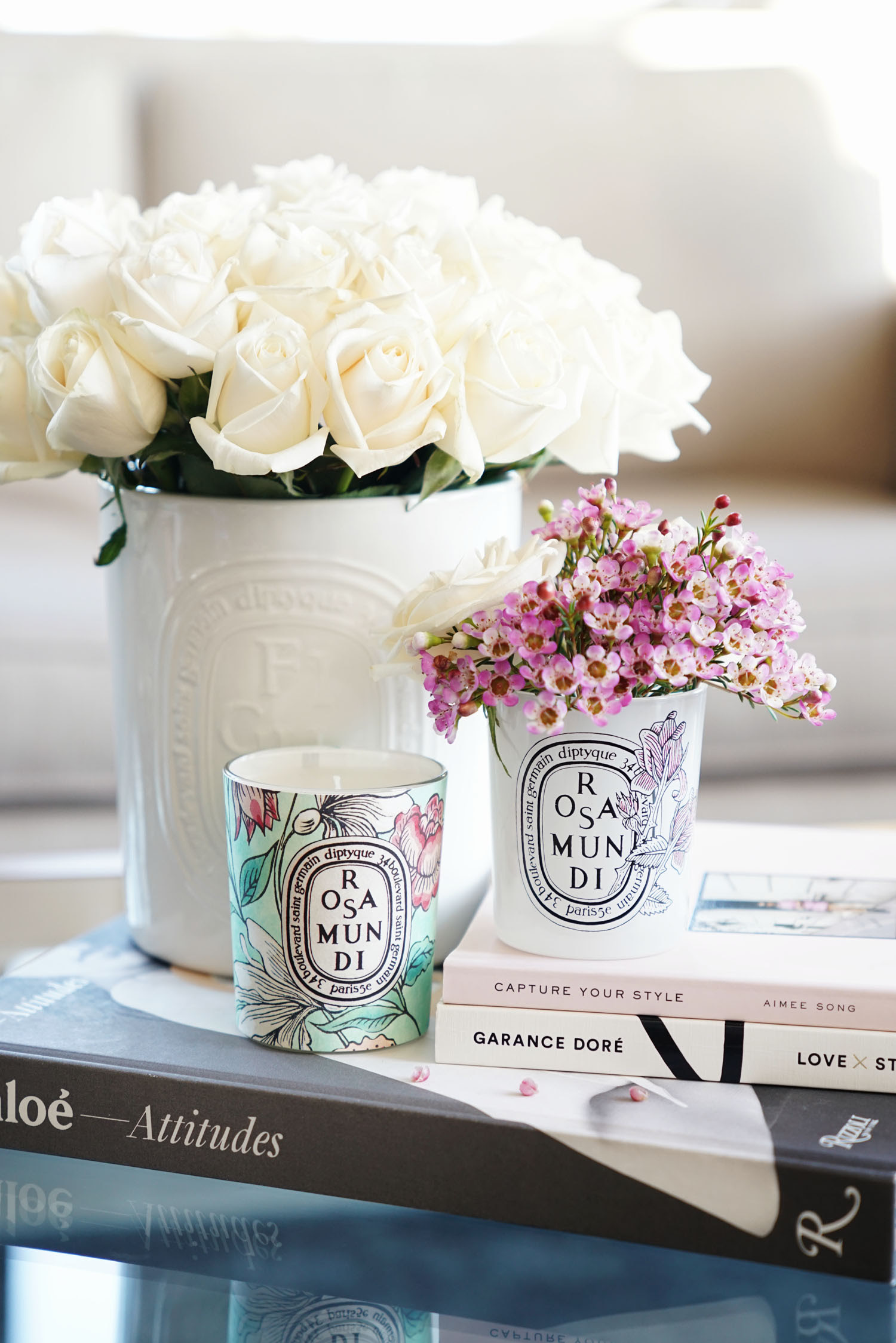 Diptyque Rosa Mundi Candle 2017 Launch | The Beauty Look Book