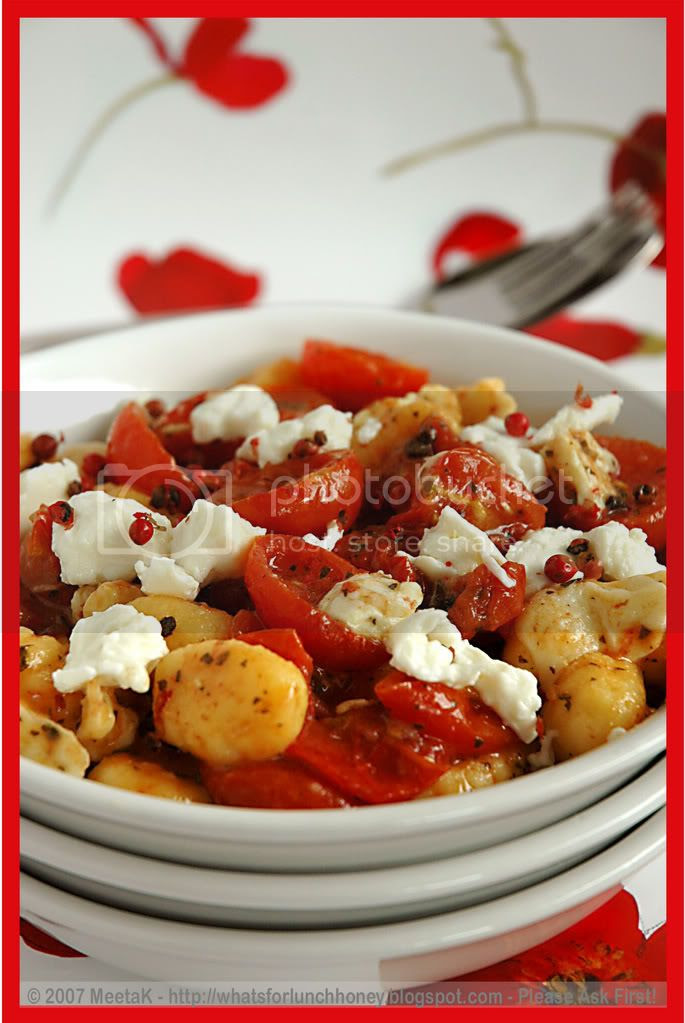 Caramelized Tomatoes Gnocchi (04) by MeetaK