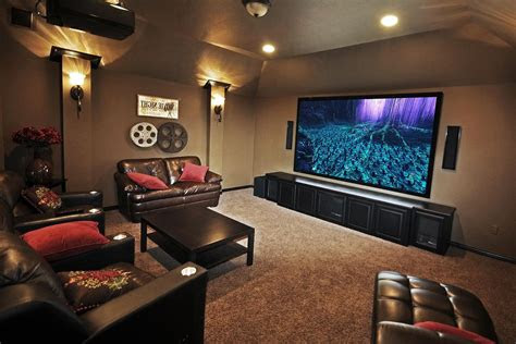 wonderful small home theater room reference