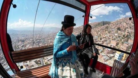 Telerico dá ar modernista à Bolívia