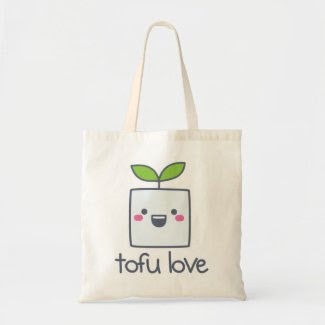 Tofu Love Tote Bag bag