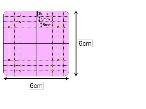 Leather bottom pincushion pattern