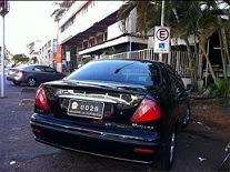 Carro oficial do senador Requião
