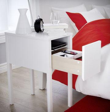 Une nouvelle table de chevet Ikea ingénieuse et originale