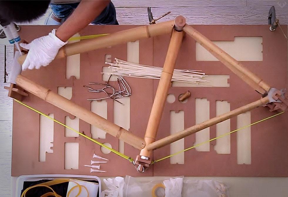Diy Bamboo Bike Frame Kit Lumberjac