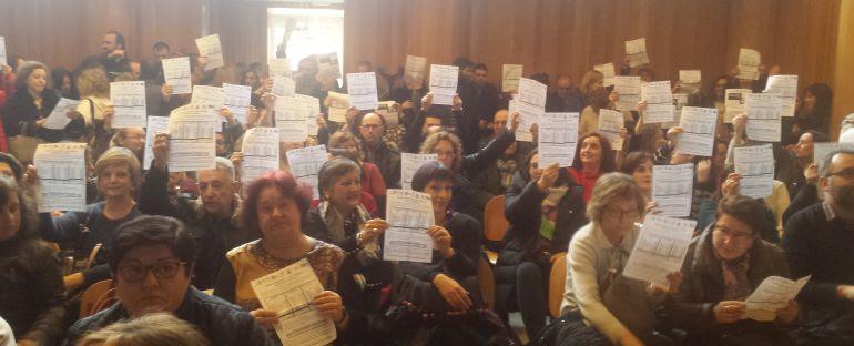 Huelga en la justicia, A Coruña
