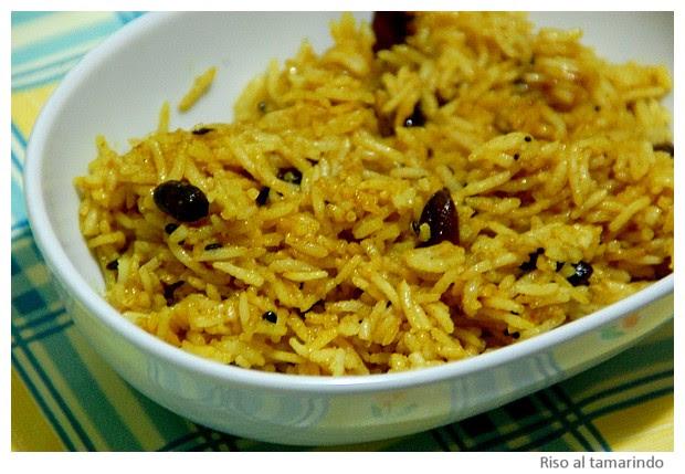 Tamarind rice - images by Sunil Deepak, 2014