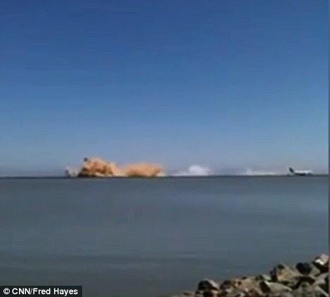 San Francisco crash landing