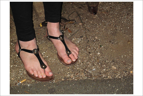 Dress Thongs On The Street