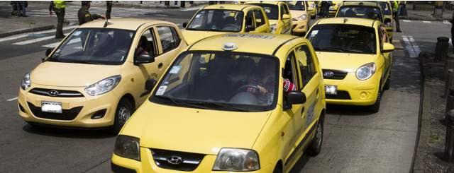 Resultado de imagen para taxistas medellin