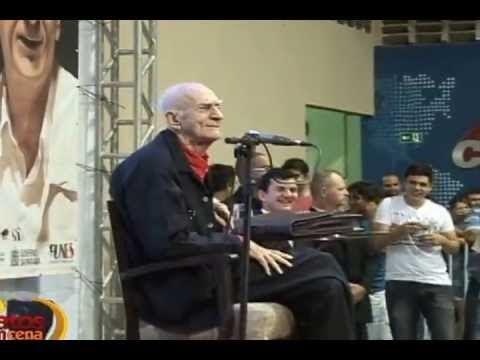Ariano Suassuna encanta o público patoense em sua Aula-Espetáculo