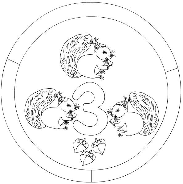 Numbers Mandala Coloring Page Crafts And Worksheets For Preschool