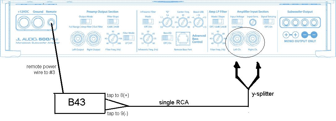 Jl Audio 500 1 Wiring Diagram