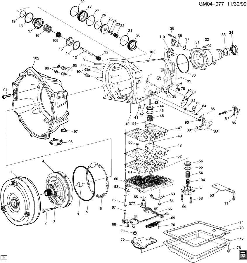 4 L 60 E Transmission Diagram