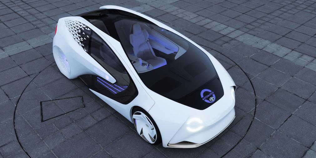 toyota self driving cars