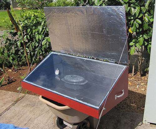 Nesafe Topic Build A Solar Oven Cooker