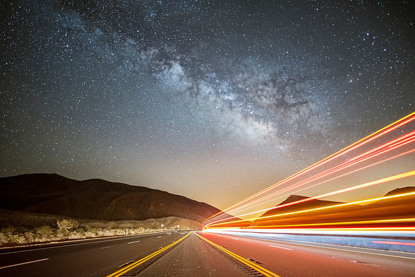 Road to the Milky Way, Red Rock canyon State Park, Cantil CA
