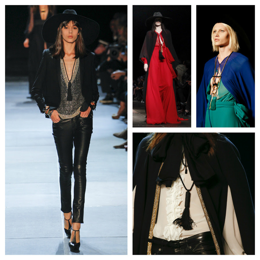 Manual de uso de los Manual de uso de los tassel: la tendencia según Saint Laurent
