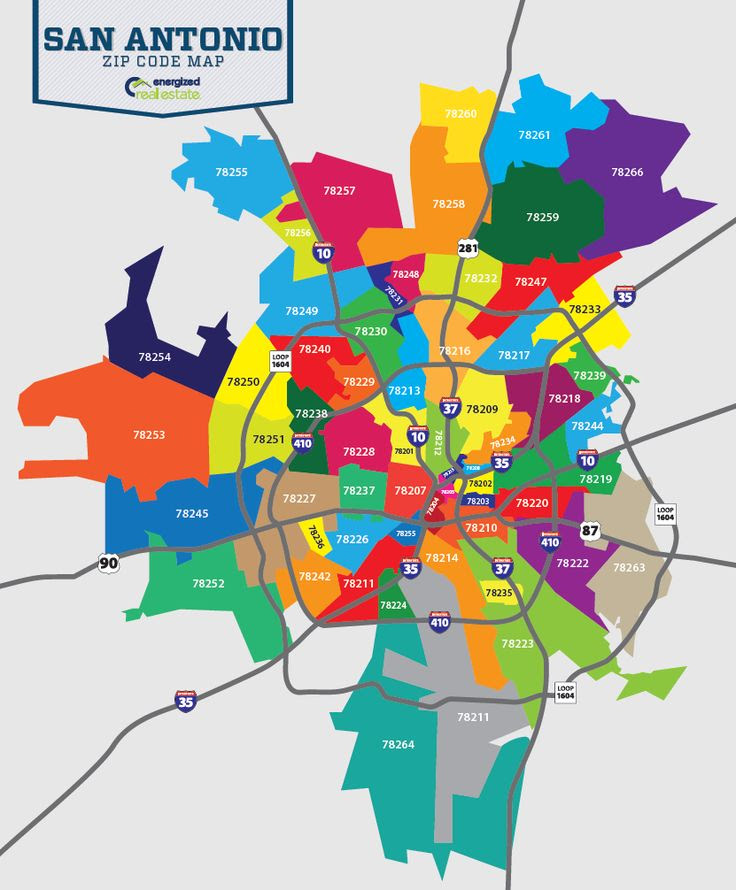 San Antonio Texas Zip Code Map Zip Code Map Of San Antonio Tx | World Map