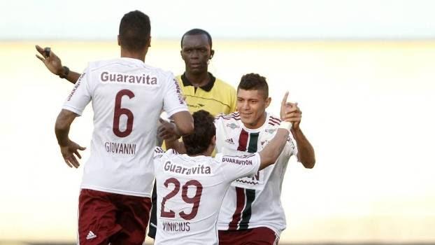 De virada, Fluminense venceu a primeira fora de casa no Brasileiro
